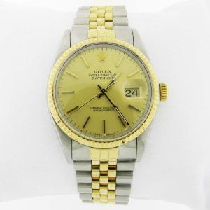 Two Tone Rolex with Oyster Face - Perpetual