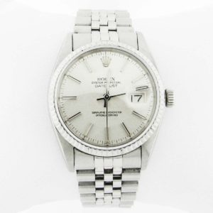 Silver Rolex with Oyster Face - Perpetual